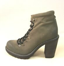 ё 407) Luxus DIESEL Designer Marken Boots Schuhe Stiefel Gr.38 Leder NP210€ NEU