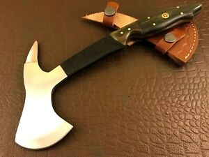Handmade Carbon Steel Spike Axe/ Hatchet -Bush Craft-Functional-Camping-JC100