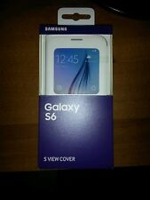 cover s view custodia Samsung Galaxy S6  EF-CG920PWEGWW  S-View Originale nuova