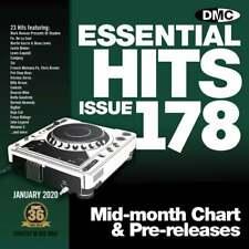 DMC Essential Hits 178 DJ CD Radio Edit Chart Music Disc ft Justin Bieber Yummy