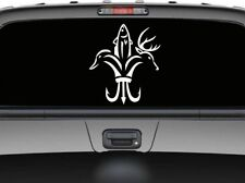 Hunting season deer fish duck new design for car truck wall window decal sticker