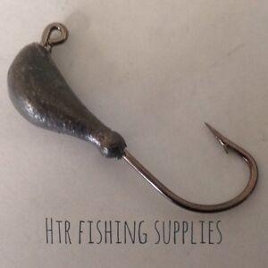 HTR Fishing Supplies 5 X Bannana Jig Heads 1/8 1/4 3/8 1/2 ounce