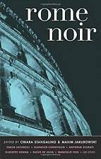 Rome Noir -  very good ex library PAPERBACK - short stories inc Carlo Lucarelli