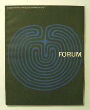 1970 ARCHITECTURAL FORUM Christopher Alexander PATTERN LANGUAGE Hans HOLLEIN