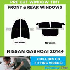 Pre Cut Window Tint - Fits Nissan Qashqai 2014+ - Full Kit