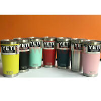 20OZ Yeti Rambler 20oz Stainless Steel Insulated Tumbler with Lid All Colors