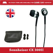 Sennheiser CX300ii Black Noise Isolating Ear Phones | U.K seller | Fast Dispatch