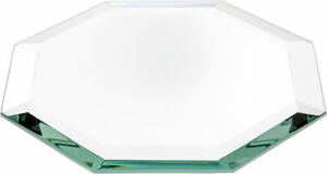 Plymor Octagon 5mm Beveled Glass Mirror, 5 inch x 5 inch (Pack of 3)