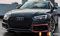 Neu Original Audi A4 B9 S-LINE Vorne Stoßstange Dark Chrom Unten Gitter LINKS