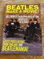 The Beatles Make A Movie Vintage Magazine 1964 Excellent Near Mint Condition