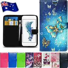 For Telstra 4GX Plus A462 A602 475 PU Wallet Leather Flip Card Holder Case Cover