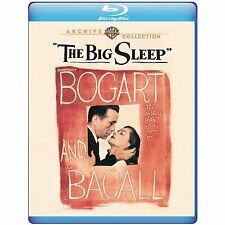 THE BIG SLEEP (Bogart & Bacall) -  Blu Ray - Sealed Region free
