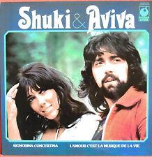 """SHUKI & AVIVA - LP """"LES PLUS GRANDS SUCCÈS / THE BEST OF"""" (FRANÇAIS / ANGLAIS)"""