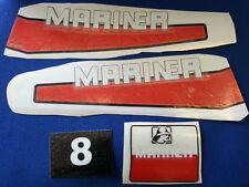 Adesivi motore marino fuoribordo Mariner 8 hp 2 tempi