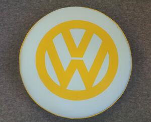 Madmatz Volkswagen VW T2 BAY Window Spare Wheel cover Off White / Sunburst