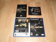 BLACK DE CRITERION GAMES - EA PARA LA SONY PLAY STATION 2 PS2 EN BUEN ESTADO