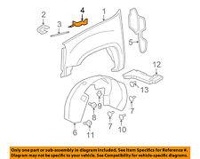 GM OEM-Fender Upper Bracket Left 15870422