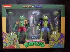NECA TMNT - Rasputin & Genghis - Punk Frogs - Teenage Mutant Ninja Turtles New