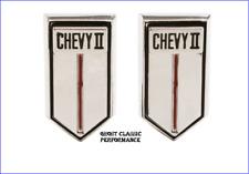 "1966-1967  ""Chevy II"" Nova Door Panel Medallion Emblem GM Reproduction USA NEW !"