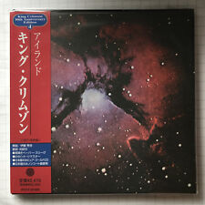 King Crimson-Islands Japon MINI LP Gold CD NEUF! PCCY - 01424
