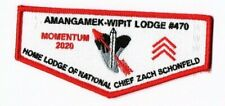 Boy Scout OA 470 Amangamek Wipit Momentum 2020 Home of the National Chief Flap