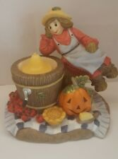 Partylite Scarecrow Votive Holder in box Free Shipping!