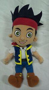 """Disney Jake and the Neverland Pirates JAKE THE PIRATE 8"""" Plush Stuffed Animal"""