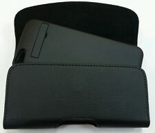 FOR APPLE iPHONE 5c BELT CLIP LEATHER HOLSTER FITS A JUICE PACK CASE ON PHONE