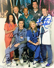 Scrubs Cast  8 x 10 Autograph Reprint  Donald Faison John C. McGinley Zach Braff