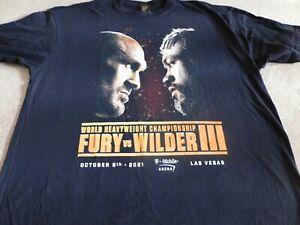 FURY/WILDER III T-SHIRT From Fight Night!!!