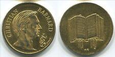 MF131c Christian Barnard, Rizzoli, beautiful scarce medal 29mm
