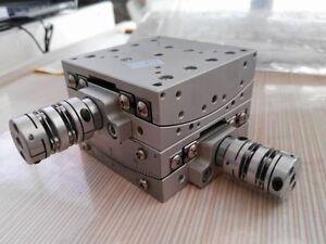 Kohzu Precision SH07A-RB XY Two Axis Manual Rotary Swivel (Tilt) ±10° Stage U00K
