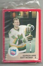 1988-89 Pro Cards 21-card IHL Kalamazoo Wings Hockey Team Set  Ken Hodge