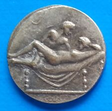 Ancient Rome Tessera Spintriae Erotic Token Roman Sex Coin Position I.