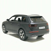 Audi Q7 SUV 1:32 Model Car Metal Diecast Toy Vehicle Kids Colleciton Gift Black