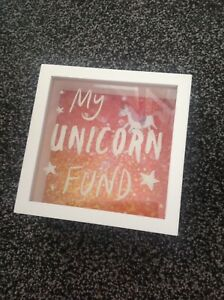My Unicorn Fund Coin Bank Savings Brand New Boxed Gift