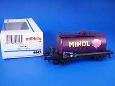 MARKLIN H0 - 4443 - MINOL TANK CAR / BOX - LN