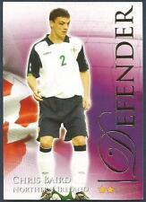 FUTERA 2010 WORLD FOOTBALL-SERIES 2- #458-NORTHERN IRELAND-CHRI BAIRD