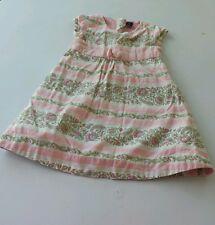 Baby Gap 18-24 Month Toddler Girl Dress Pink & White Purple Floral Print