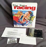 Big Red Racing Original PC Big Box Game Domark Eidos Interactive - VERY RARE