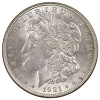 1921 $1 Morgan Silver Dollar BU Uncirculated Coin SKU34803