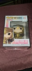 FUNKO Pop Heroes 323 WW84 Wonder Woman Golden Armor
