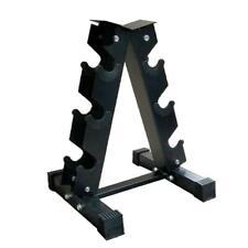 Vertical Dumbbell Weights Rack Set 6 Hand 22.5kg Exercise Fitness Gym No Dumbell