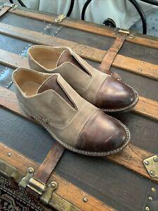 Bedstu Rose Cap Toe Oxford Shoe Suede Leather size 7.5