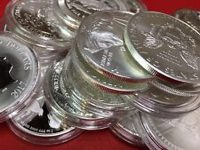 INVEST IN PURE SILVER! Lot of 3 x 1 oz .999 Bullion Uncirculated Coins GRAB BAG