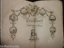 BERNER TAGEBUCH 1798 - Bern, Swiss, Switzerland History - Georgian Magazine RARE
