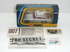 """Corgi 270 James Bond Aston Martin DB5 Menta en caja con accesorios """"Original"""""""