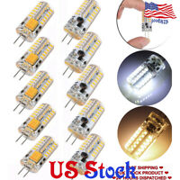 4X 6X 10X G4 Base 48 LED Light Bulb Lamp 3W AC/DC12V AC110V/220V Warm/Cool White