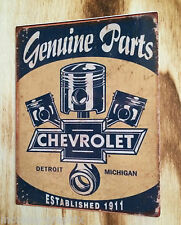 """Retro Aufkleber / Sticker """" Chevrolet Chevy """" US V8 Ratrod / Hot Rod - Oldschool"""