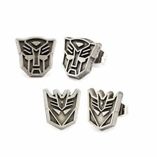 Officially Licensed Transformers Decepticon and Autobot Earring Set